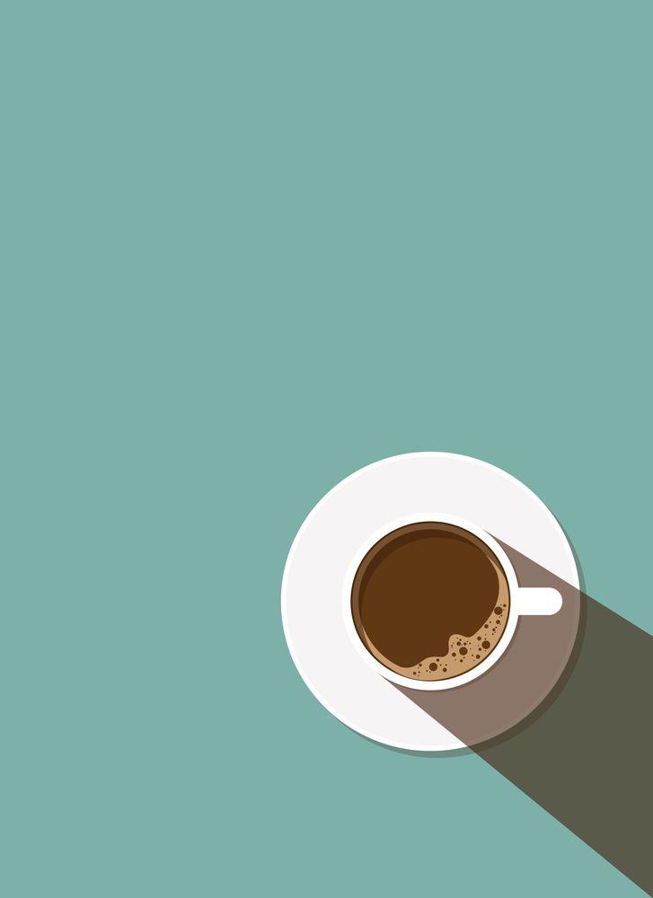 Coffee Break in a Flat Design Framed Art Print by ammooina