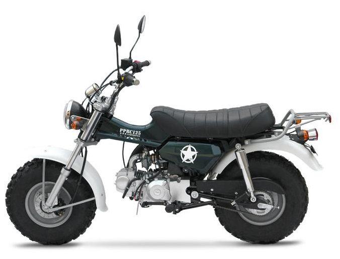 125 Mini Trail Motorcycle Sherpa Custom Bikes Mini Bike Trail Motorcycle