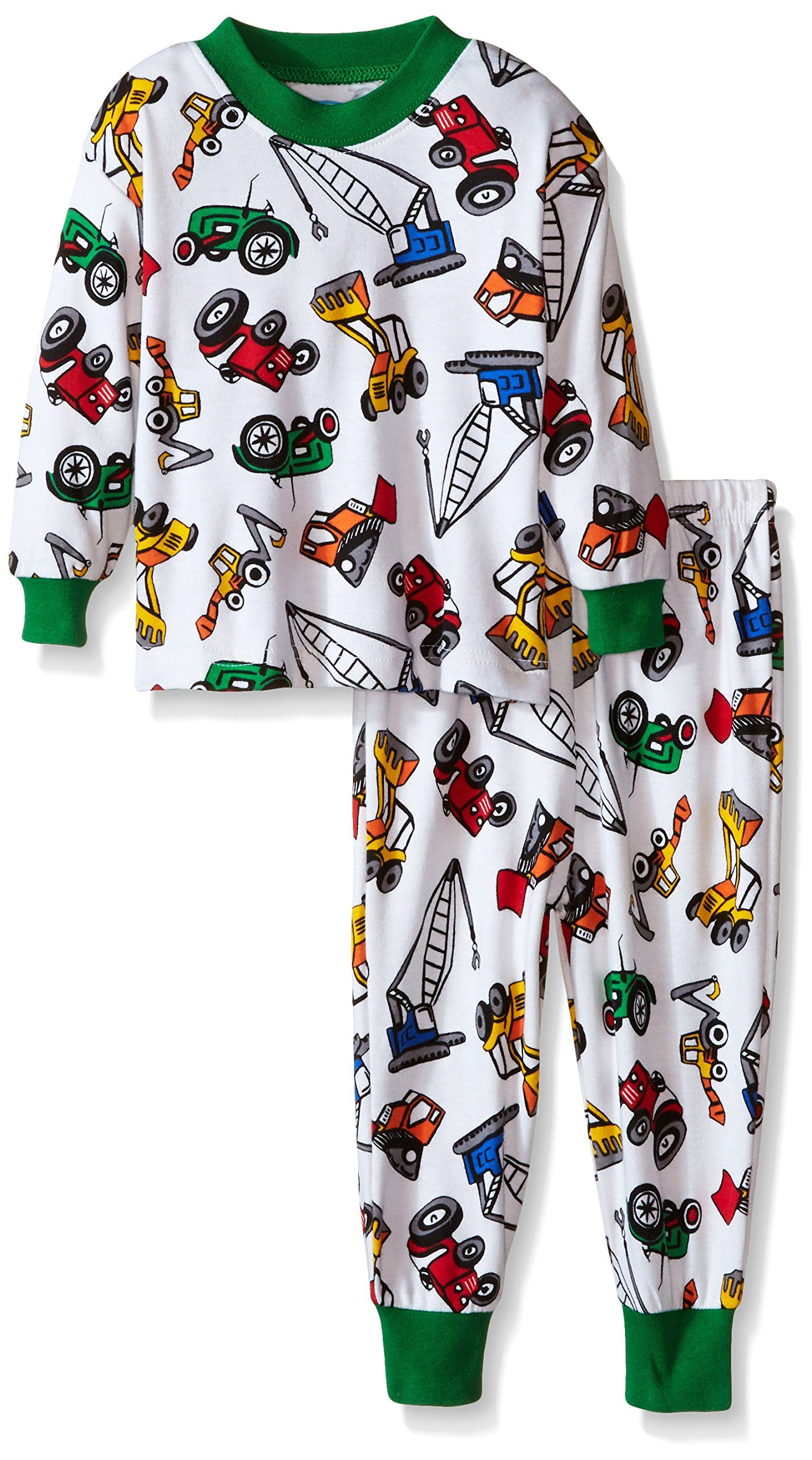Little Boys Long Sleeve Pajamas Saras Prints