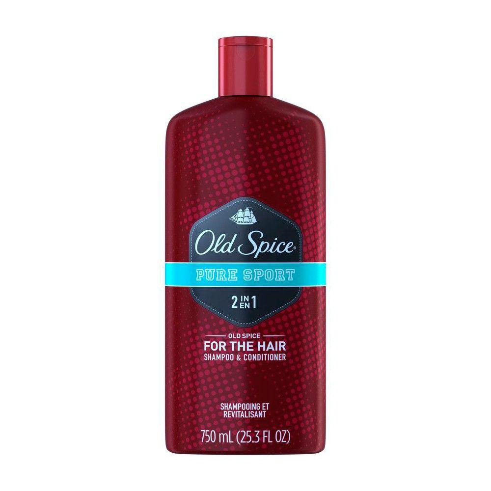 Old Spice Pure Sport 2 in 1 Shampoo & Conditioner 25.3