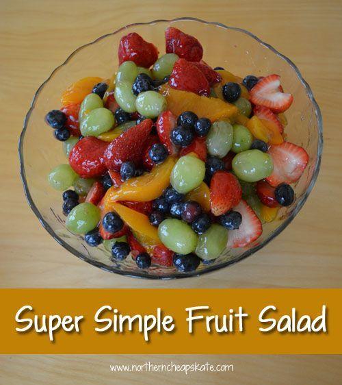 Super einfacher Obstsalat   - Side Dishes -