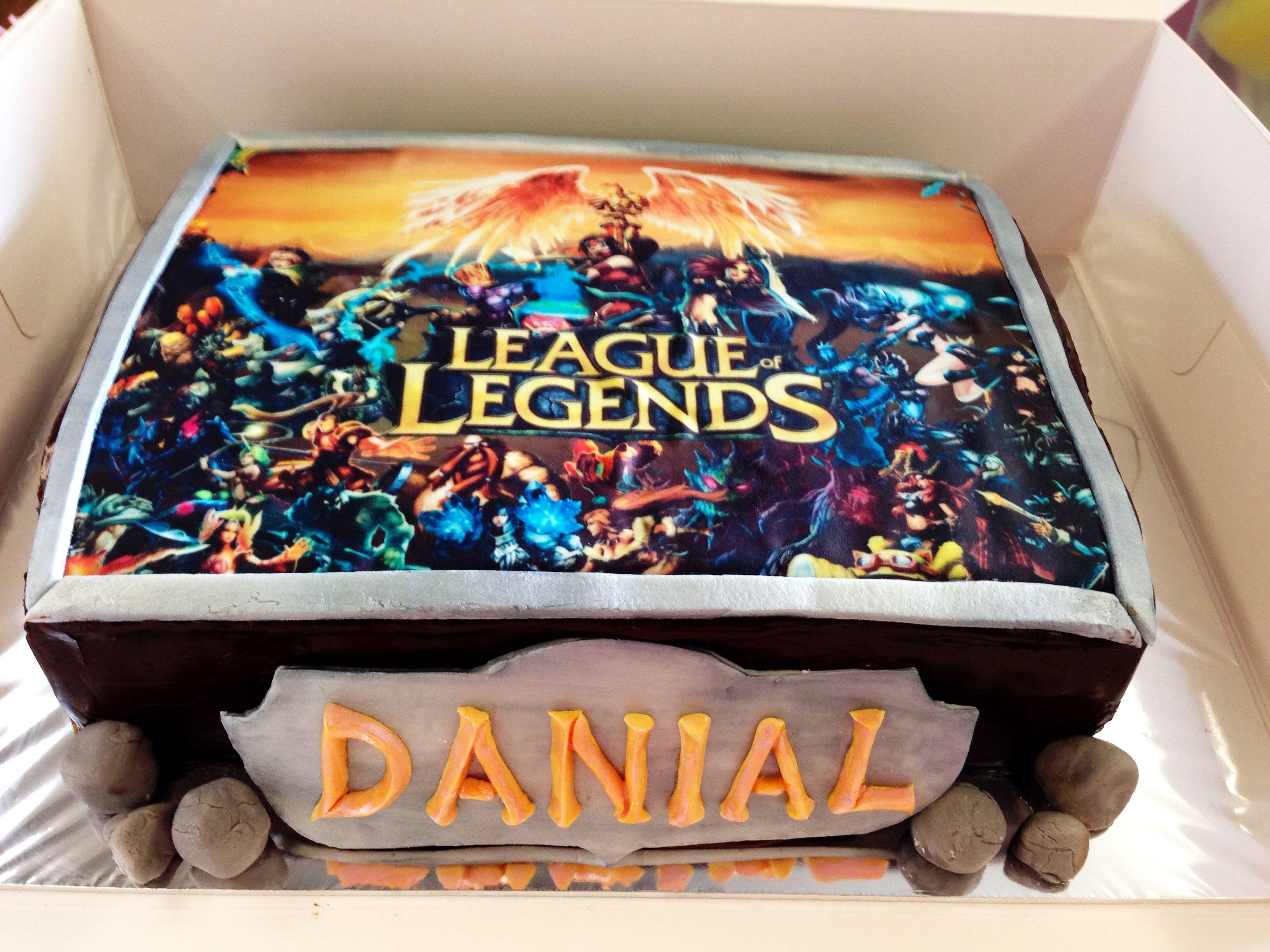 Draven Lol Birthday Cake