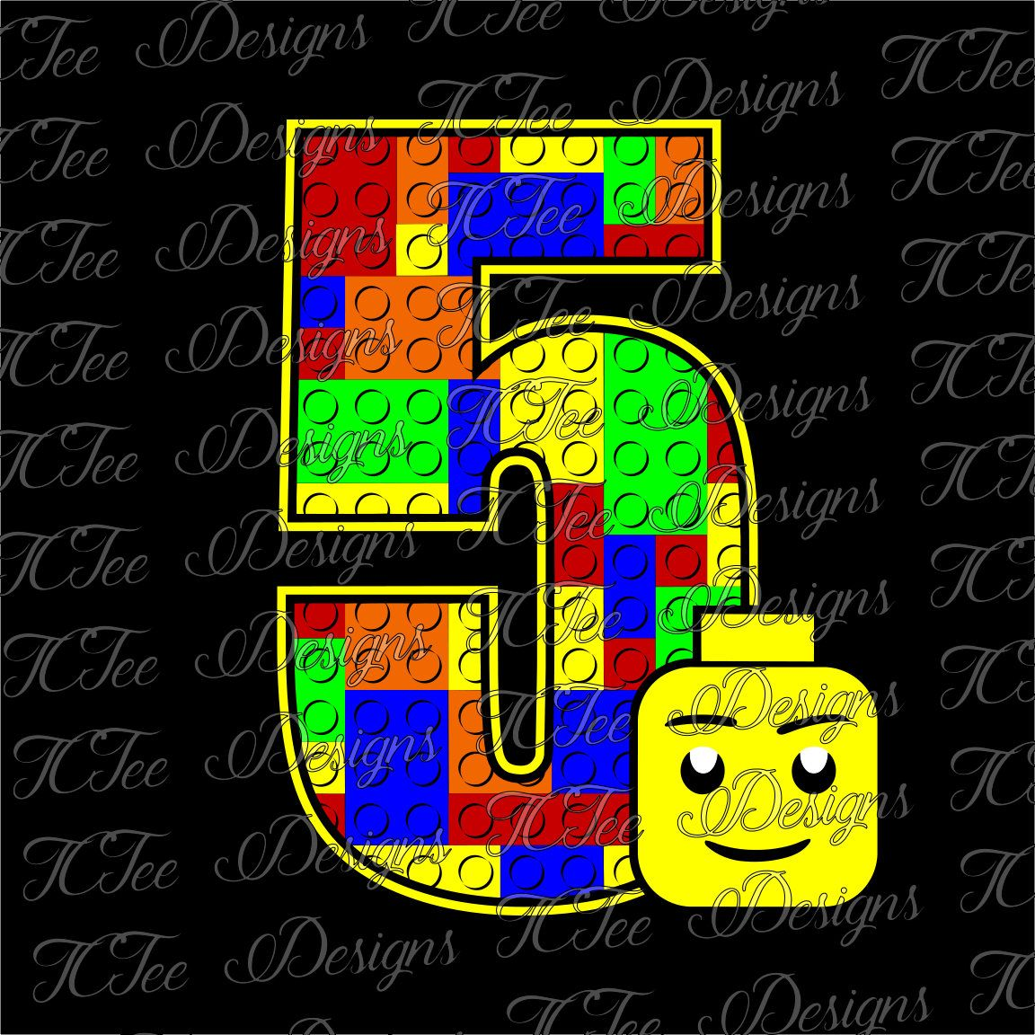 Lego 7 7th birthday lego birthday svg design download vector lego 5 5th birthday lego birthday svg design download vector cut file by stopboris Gallery