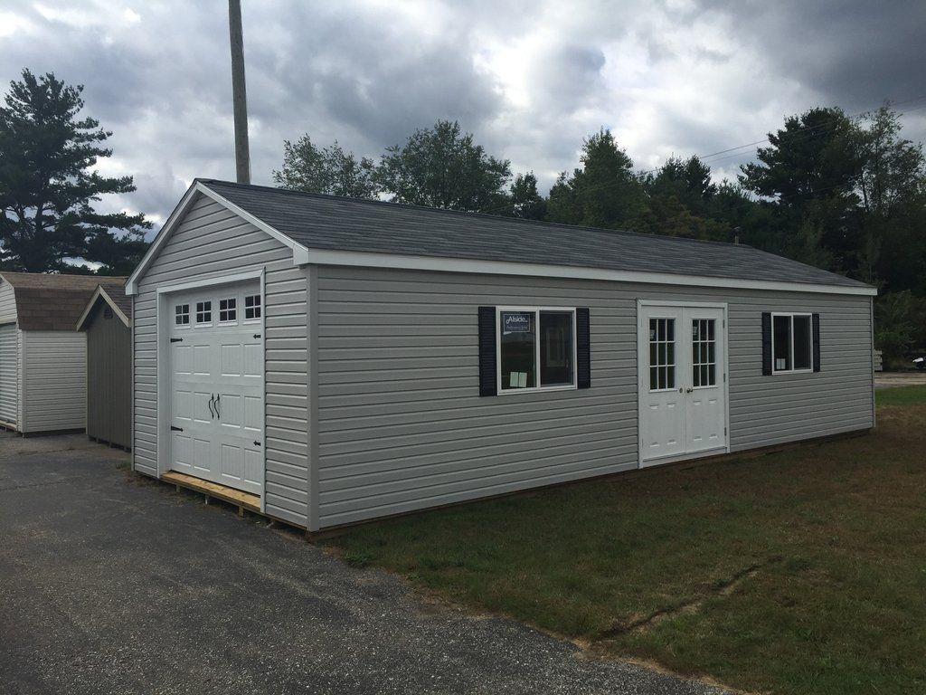 16x36 Vinyl Garage Door Upgrade Garage Plans Sectional Overhead Doors