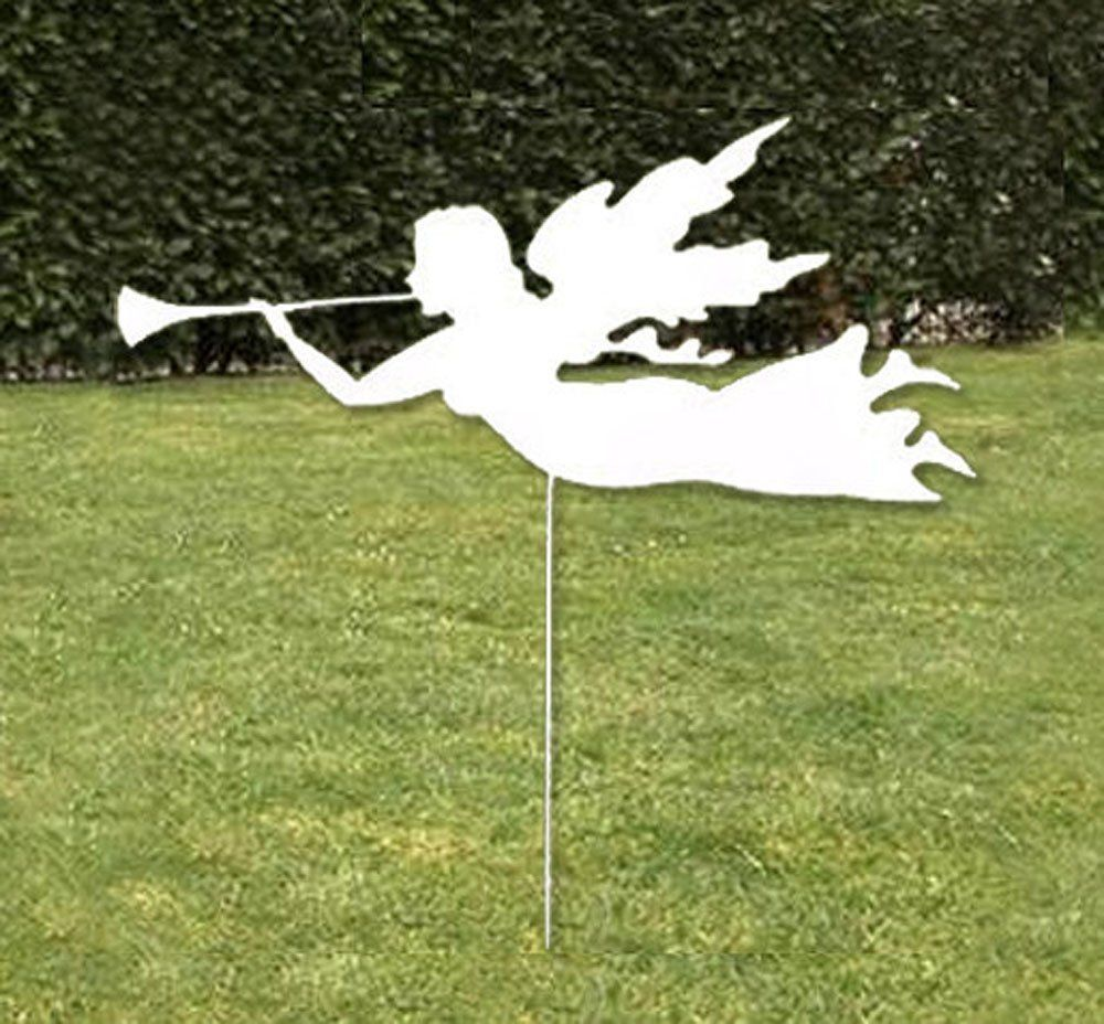 Angel Garden Stake or Wall Hanging. This handcrafted, delicate Angel ...