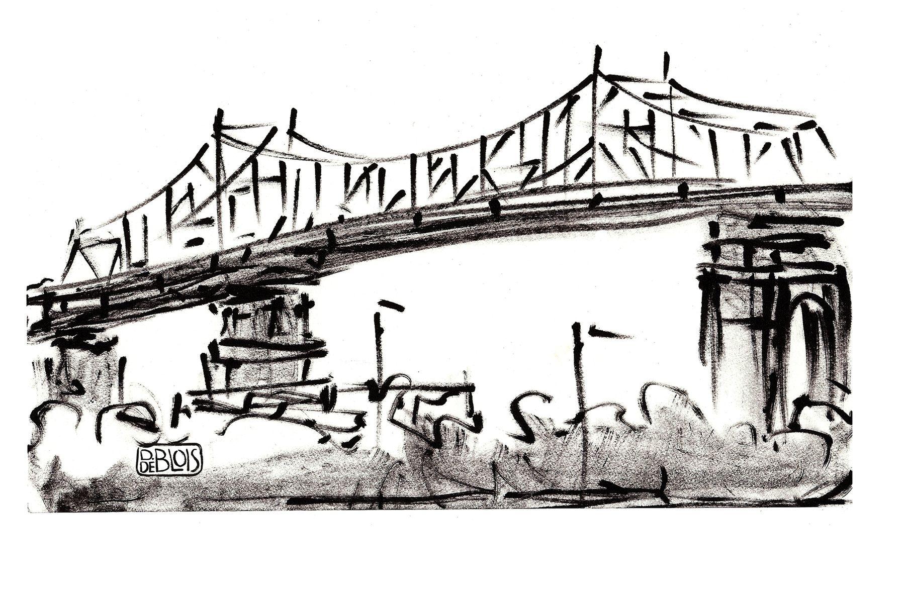 Resultats De Recherche D Images Pour Pont Jacques Cartier Dessin Future Jobs