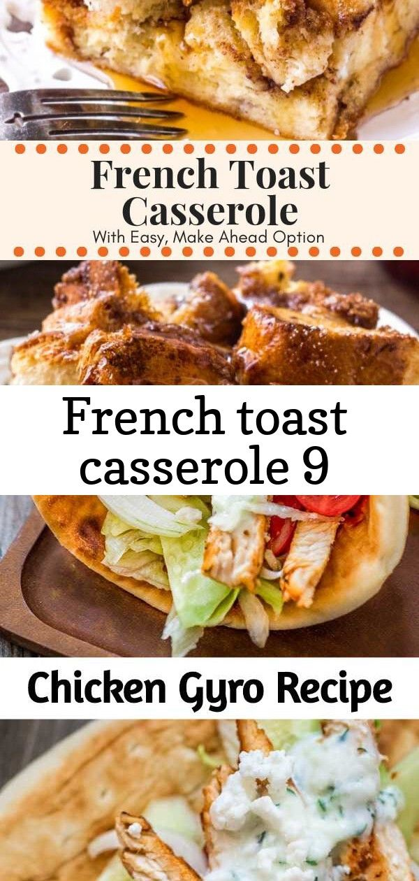 French toast casserole 9 French Toast Casserole with cinnamon sugar topping is soft and fluffy on the inside and golden brown on top Make it overnight and bake in the mor...