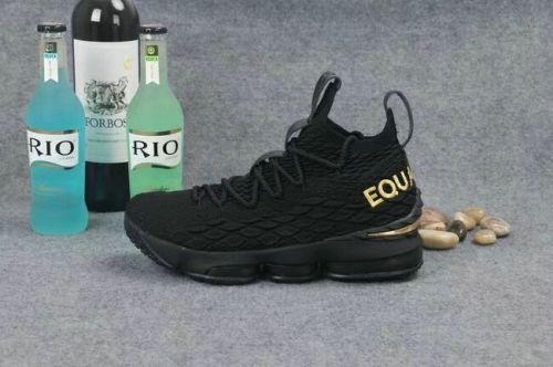 Where To Buy Nike LeBron 15 EQUALITY PE Black Metallic Gold  9966605cb