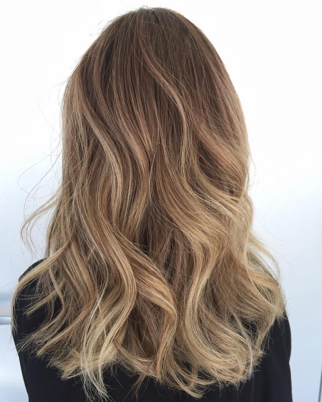 Caramel honey balayage \u2026