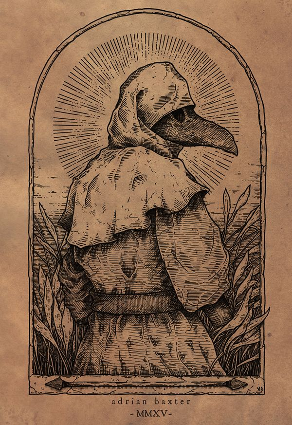 Adrian Baxter Harvest Occult art, Medieval art, Art