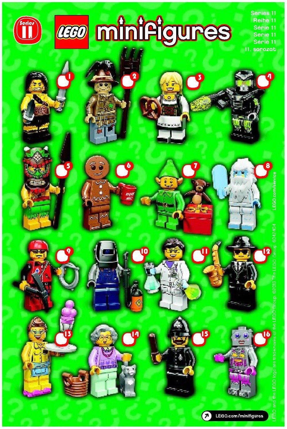 Mini Figures - LEGO Minifigures Series 11 [Lego 71002 ...