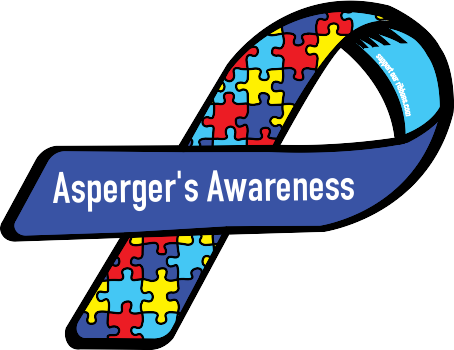 Aspergers Awareness Ribbon This Is The Type Of Autism My Children
