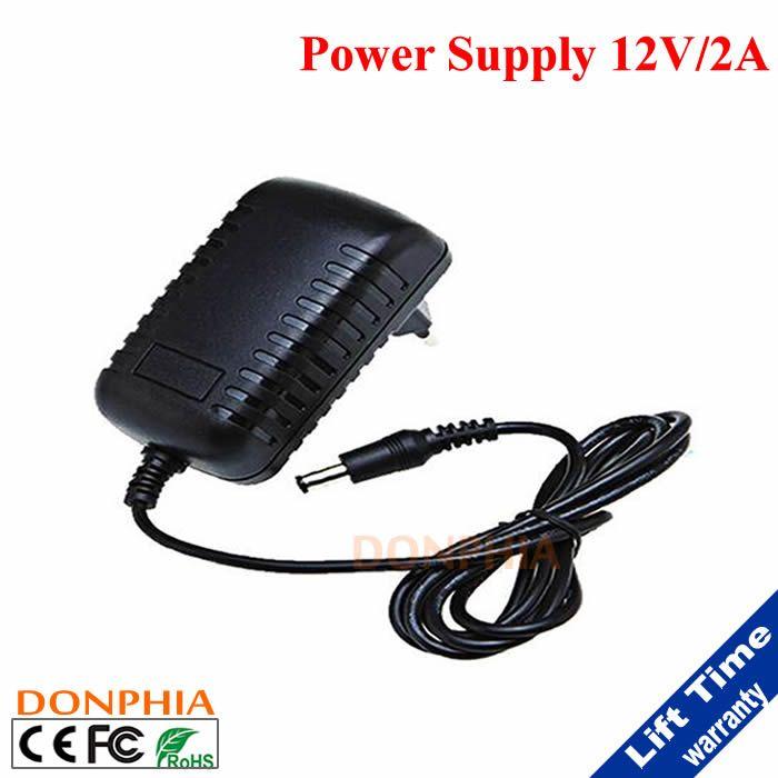 AC 100-240 DC 12V 2A /1A Switching Power Supply Converter Adapter EU US UK AU Plug for CCTV Camera  CCTV Accessories