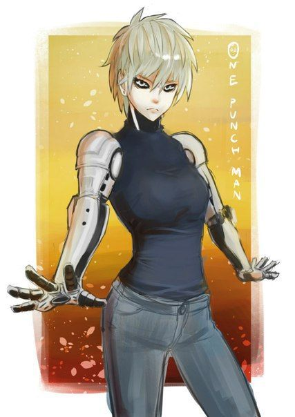 Genos Fan Arts 803 Photos Vk One Punch Man Anime One