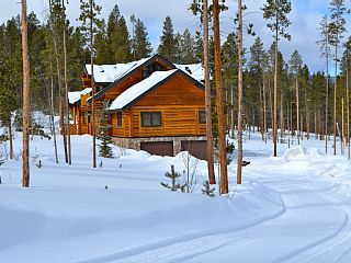 The Lazy Z! - Beautiful Colorado Log Home - Ski, Golf ...