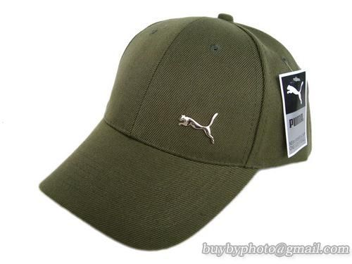 Puma Baseball Caps Army Green  5c463278962