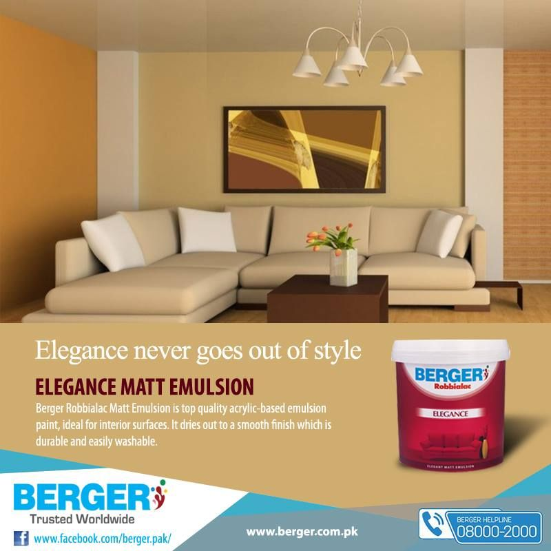 Berger bergerpaintpakistan bergerpaint color paint decor homedecor mattemulsion