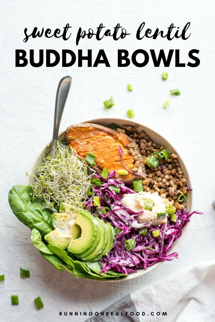 Avocado Sweet Potato Buddha Bowls
