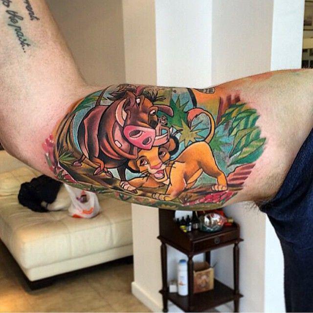 Lion king tattoos hakuna matata beaux tatouages tatoo et tatouages - Hakuna matata tatouage ...