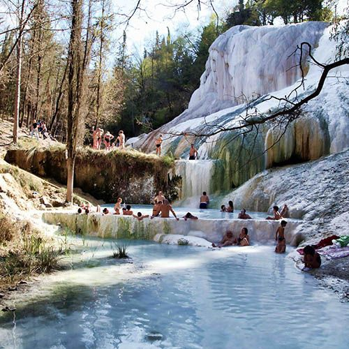 Vacation Packages Tuscany: Bagni San Filippo, Castiglione D'Orcia