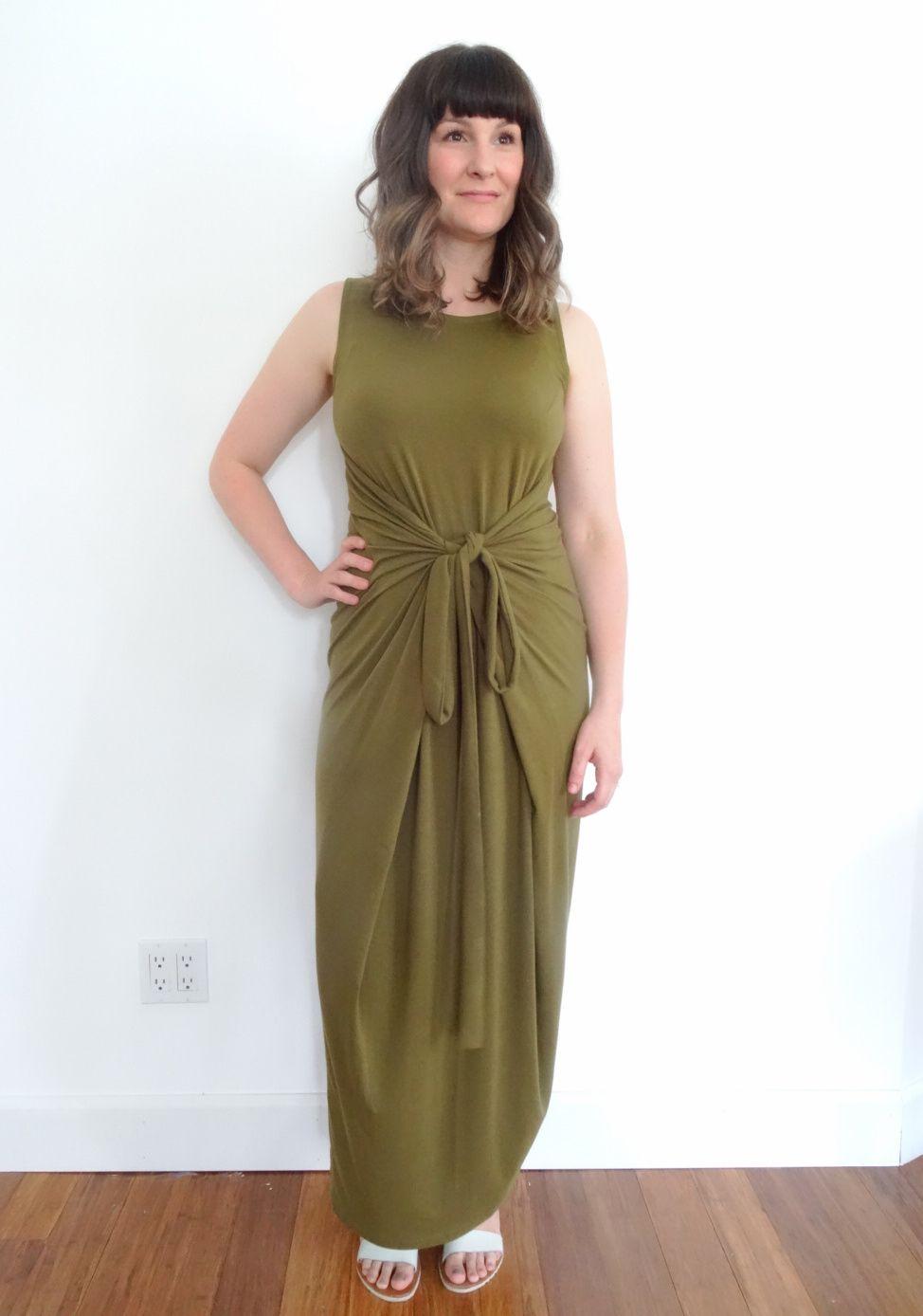 Named Patterns - Kielo Wrap Dress