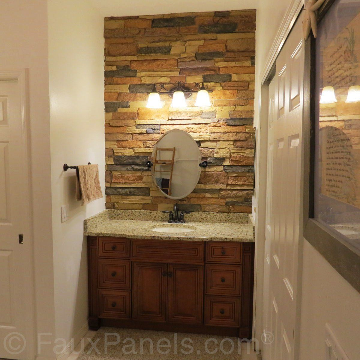 Bathroom Design Ideas  Remodeling Pics With Faux Stone  Creative Captivating Bathroom Design Norwich Design Inspiration