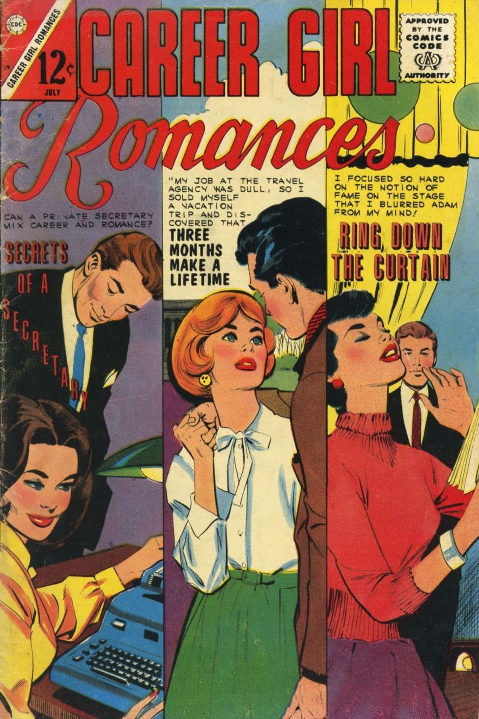 Comic Book Cover Artist Wanted : Comic book cover for career girl romances romance