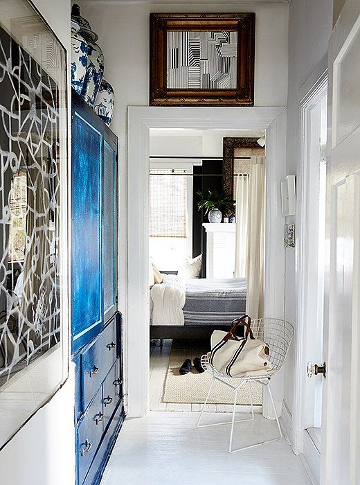 A Designer S Bright And Beautiful Art Filled Apartment In