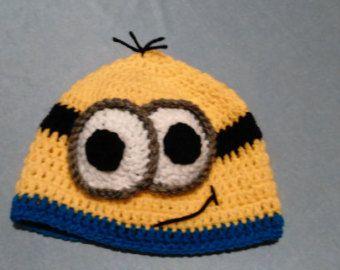 Sombrero del ganchillo de Minion