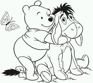 Dibujos De Winnie Pooh Para Pintar Parte 8 Dibujos Para Colorear Gratis Dibujos Para Colorear Disney Colorear Disney