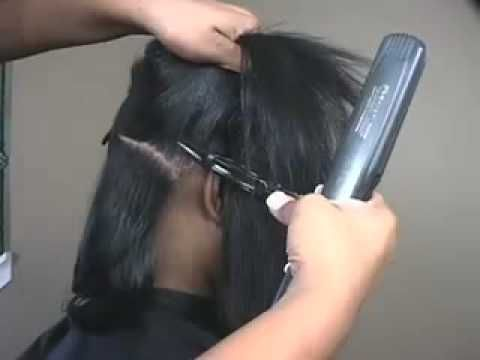 straightening natural hair tutorial so gonna try this