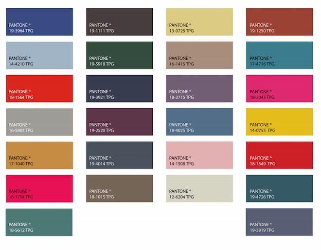 72c79b696c Colores de Moda para el otoño invierno 2019-20