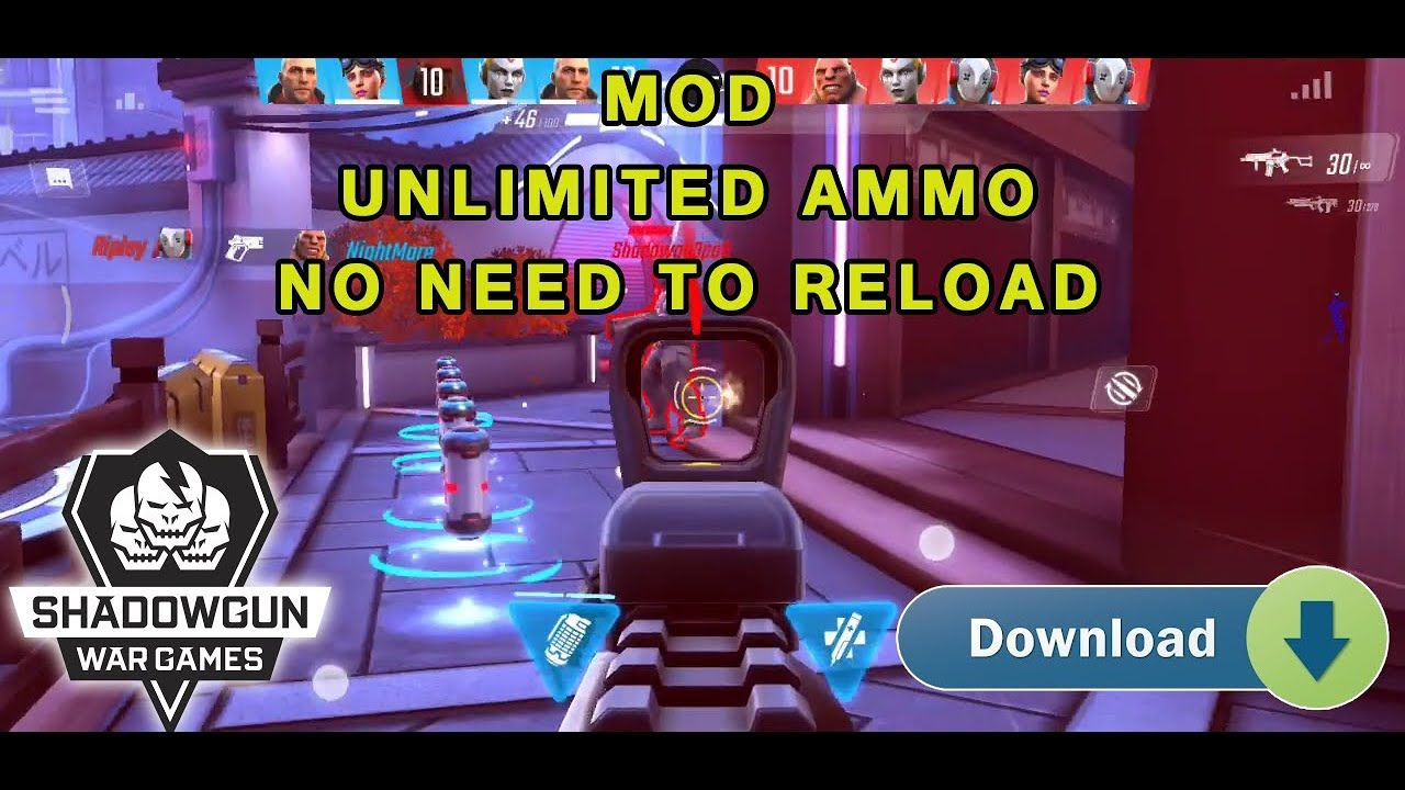 Shadowgun War Games – Online PvP FPS + Mod Unlimited Ammo | Download Link,  Tutorial Walkthrough Hack in 2020 | Pvp, Online games, Fps