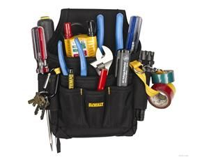 DEWALT DG5103 Small Durable Maintenance and Electrician/'s Pouch with Pockets ...