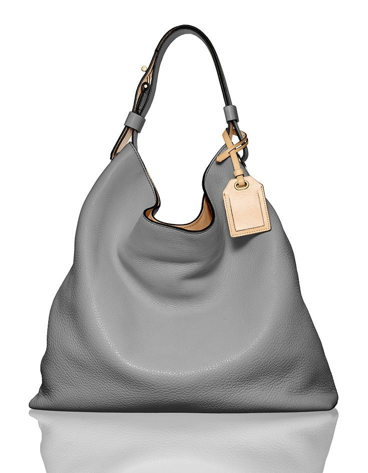 72ba84699600 The RDK Hobo.  reedkrakoff  gray  handbag