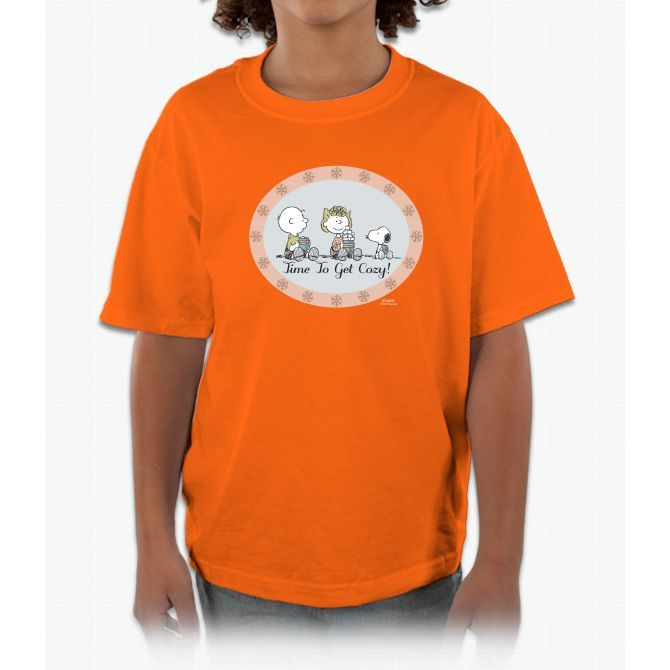 Peanuts Cozy Tee Charlie Brown Kids and Youth T-Shirt