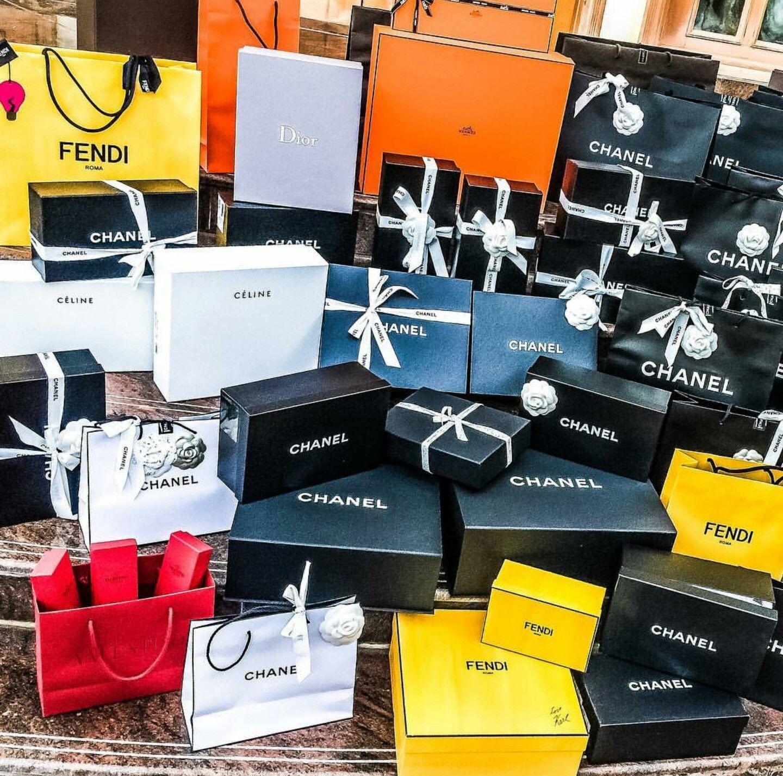 chanel valentino fendi dior hermes prada box bag luxury shopping louis  vuitton 0a20381951b69