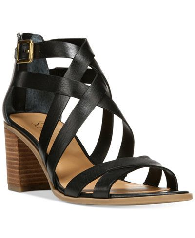Franco Sarto Hachi Strappy Sandals - Sandals - Shoes - Macy's