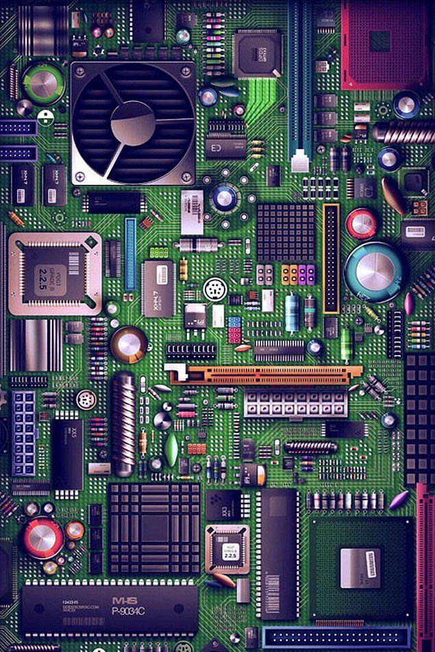 Cep Telefonunuzun Cehresini Degistirecek Birbirinden Guzel 121 Arka Plan Technology Wallpaper Hd Phone Wallpapers