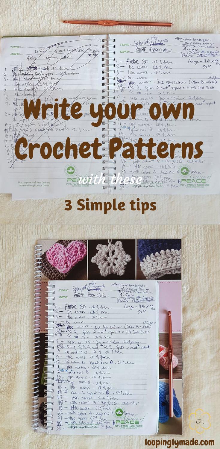 Write your own crochet patterns 3 simple tips crochet patterns write your own crochet patterns 3 simple tips bankloansurffo Image collections