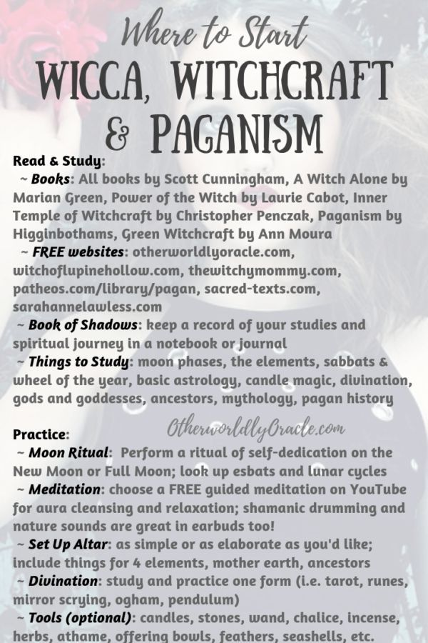 Where to Start: Wicca, Witchcraft, Paganism for the Beginner Pagan