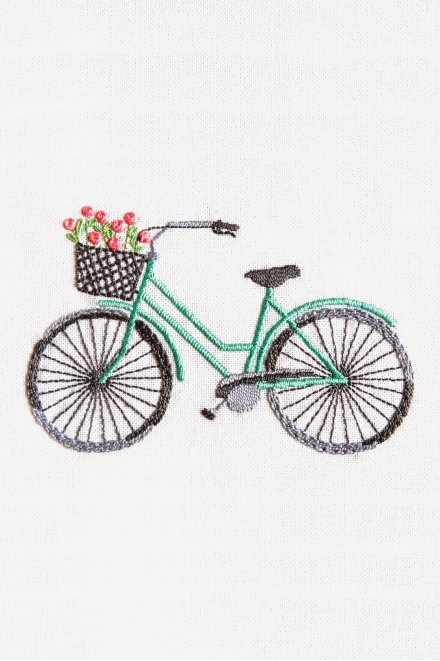 Bicycle Pearl Cotton Kit - Traditional embroidery kits