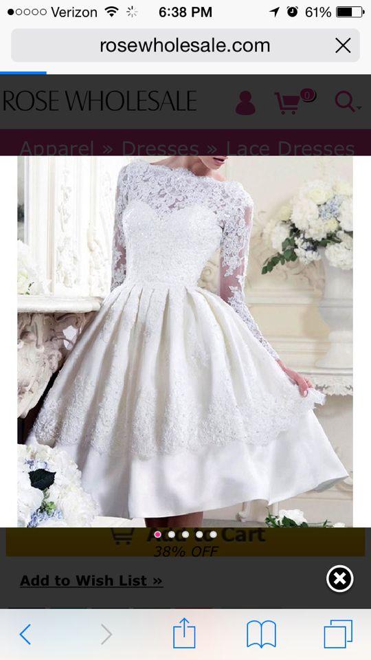 Pin by Morgan Jenkins on Wedding Dresses   Short wedding ...