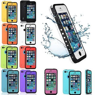 new product e9ff6 1e50c TOUCH ID WATERPROOF CASE FOR APPLE IPHONE 5S 5g WITH FINGERPRINT ...