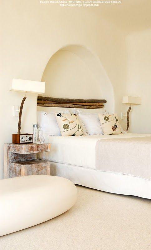 chambre hotel mystic santorin grece | Santorin | Pinterest ...