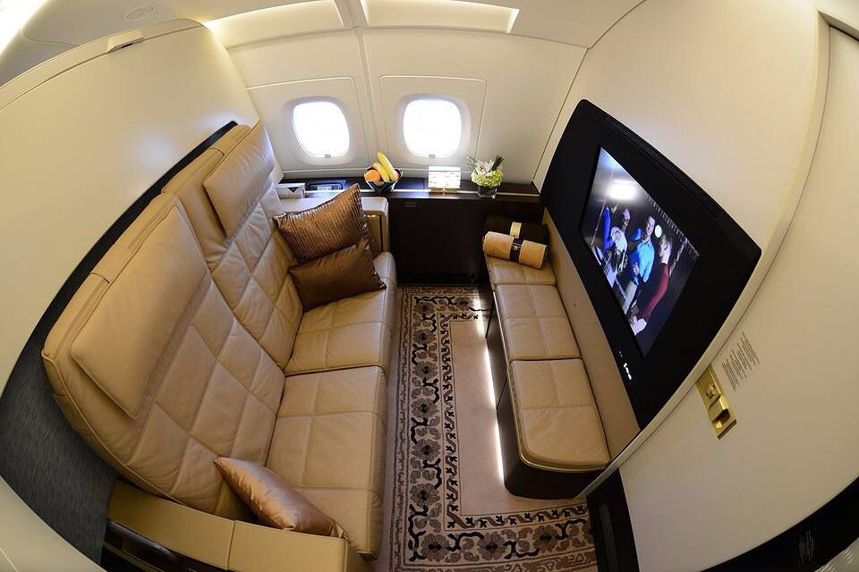 Etihad Residence Beyond First Class On Their A380