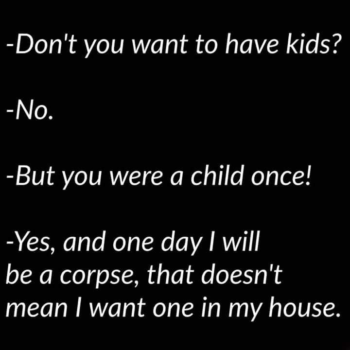Pretty Much Lol Childfree Words Bad Memes