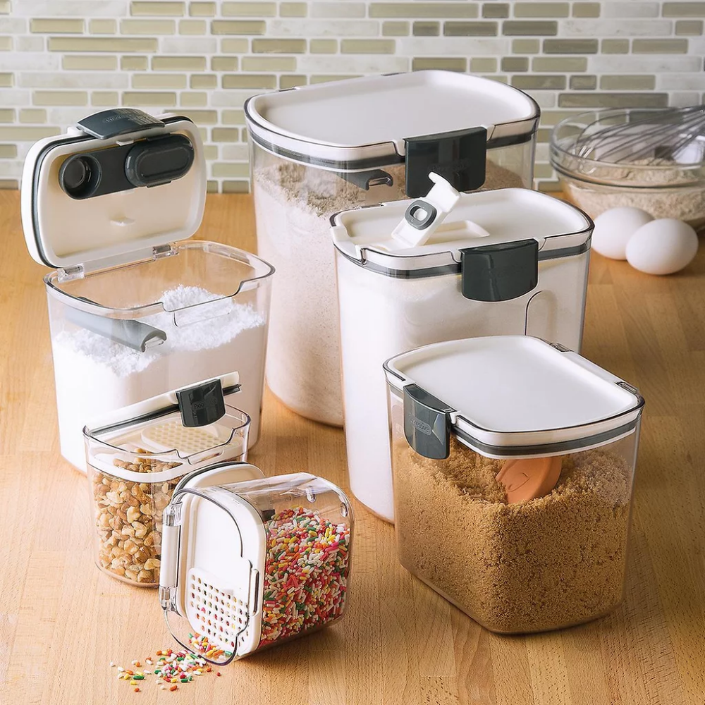 Prokeeper Baker S Storage Set Of 6 Airtight Food Storage Airtight Food Storage Containers Flour Storage Container