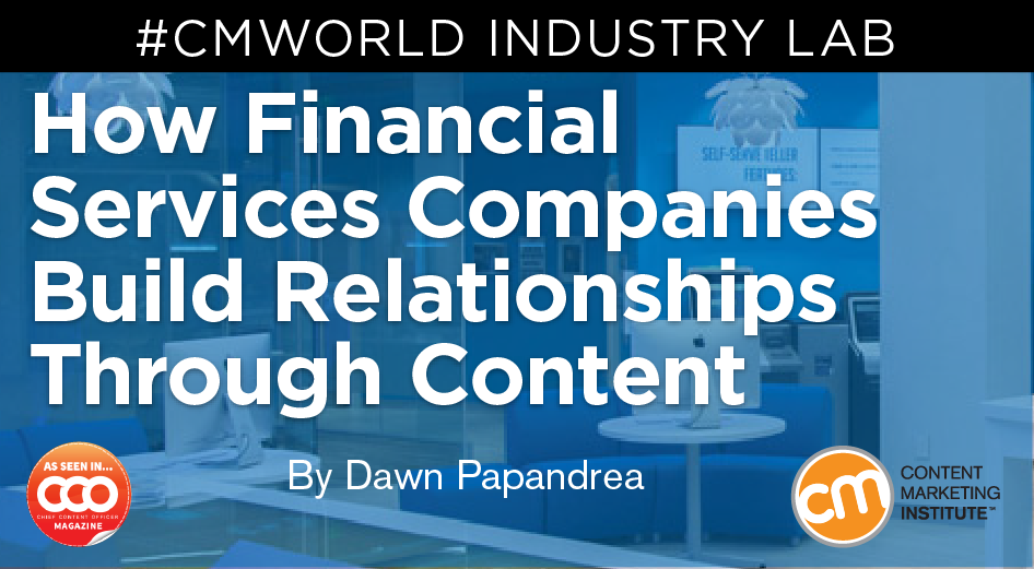 How To Step Up Your Financial Services Content Game Financial