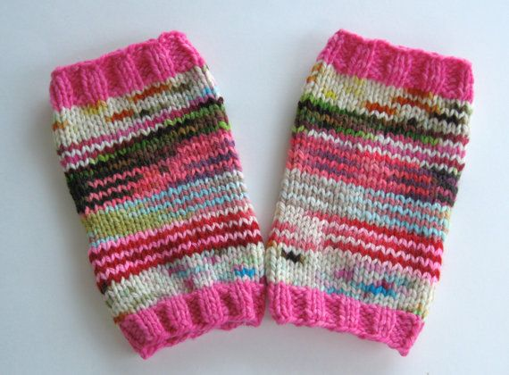 toddler 'knitted' leg warmers